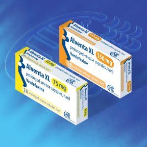 Venlafaxine (Alventa XL) PR Capsules